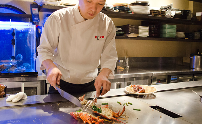 Deliver teppanyaki that Japan boasts to people all around the world