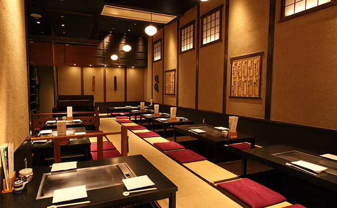 Feel the Japanese spirit of harmony in the relaxing interior…