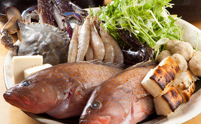Fastidiously selected fresh fishes