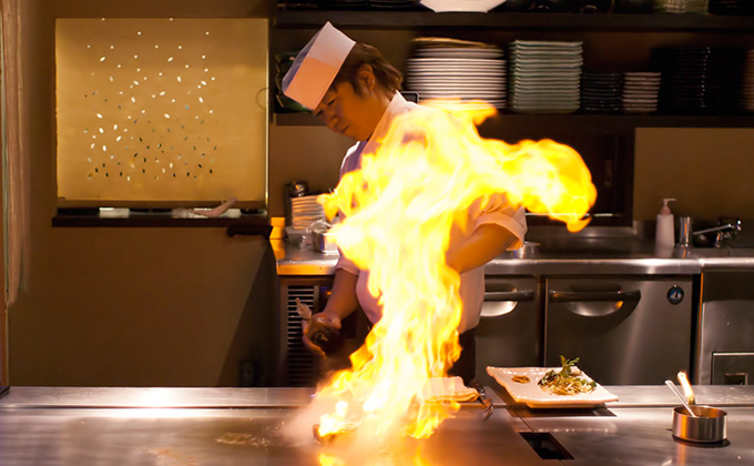 Our chefs' culinary skills are both effective and fascinating!