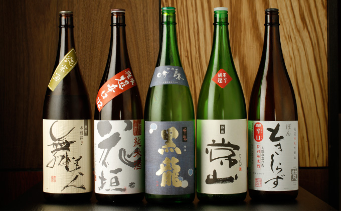 We are confident that there is something to satisfy and delight you at Hakobune, if you would like to experience some local sake of three prefectures in Hokuriku and Niigata Prefecture!
