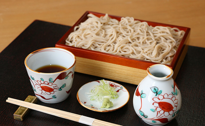 We're particular about our soba.