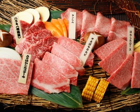 Enjoy the charms of Kagoshima Kuroge Wagyu beef to your heart's content.