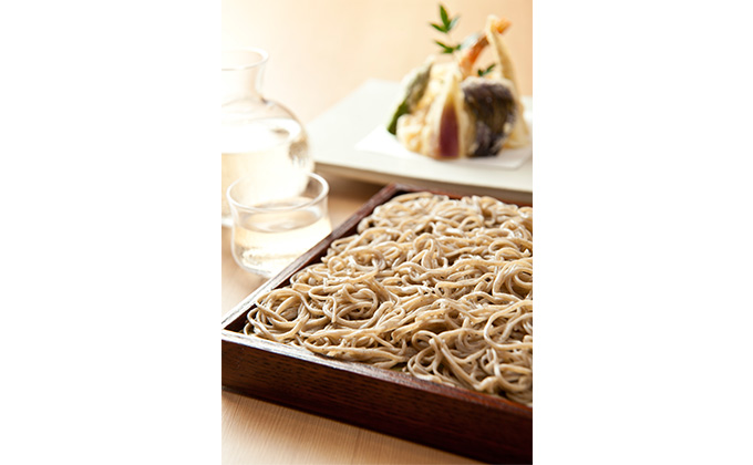 When enjoying dinner, why not savor some soba to wrap up your night?