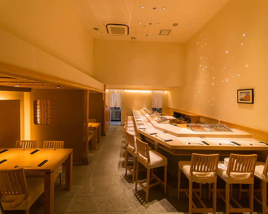 Novel modern Japanese-style space