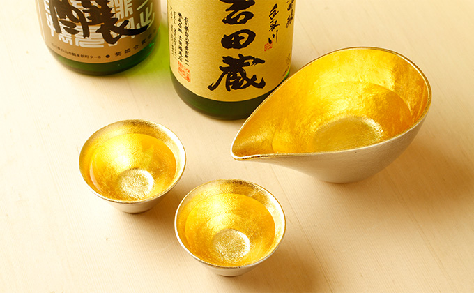 Scrupulous selection of sake