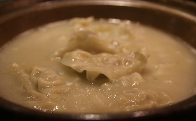Local specialty from Hakata, Kyushu: boiled gyoza
