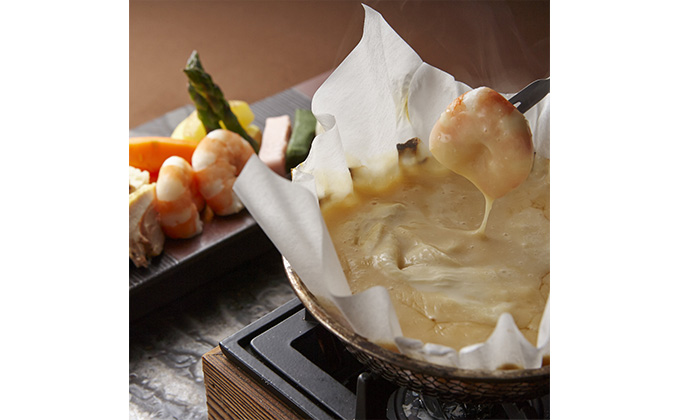A revived special menu: Japanese-style fondue made with soymilk!