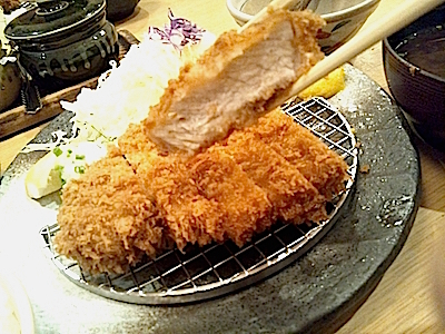 Tonkatsu (breaded and deep-fried pork cutlet)